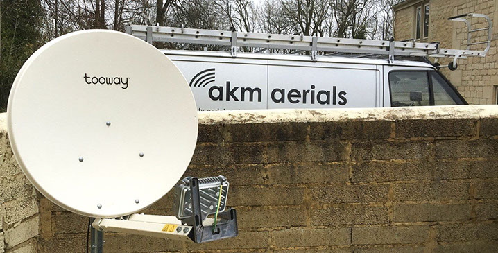 satellite broadband gloucestershire